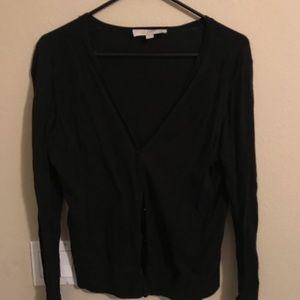 Woman's black cardigan/sweater